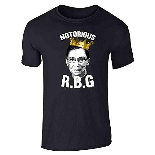 Pop Threads Notorious R.B.G. RBG Supreme Court Political Black 2XL Short Sleeve T-Shirt]()