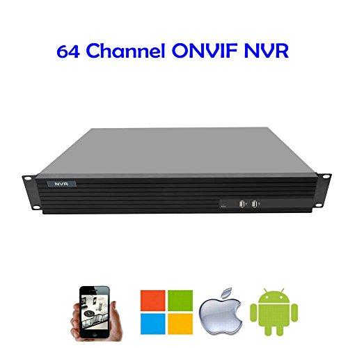 Atx Audio - NightKing 64 Channel NVR,16CH 4K/24CH 5MP/36CH 4MP/64CH 1080P NVR,8Pcs Sata Port,H.265/H.264,4K HDMI,Audio,Alarm,ATX Power