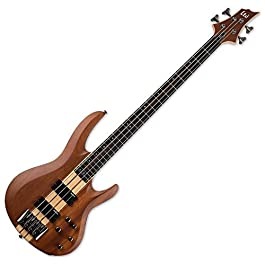 ESP LTD B-4E Mahogany Bass Guitar – Natural Satin
