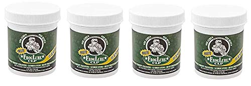 Froglube CLP 4 Oz. Tub of Paste Gun Cleaner Lubricant Protectant (Fоur Расk) by Frog Lube