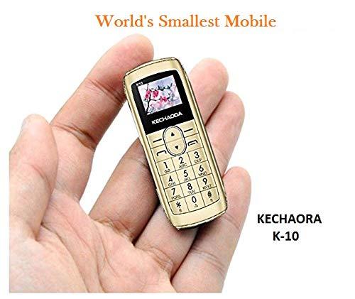Kechaoda K10 Finger Sized –Bluetooth Phone, Single Sim, 0 66
