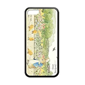 XiFu*Mei[Accessory] iphone 4/4s Case, [peter rabbit] iphone 4/4s Case Custom Durable Case Cover for iPhone5c TPU case (Laser Technology)XiFu*Mei