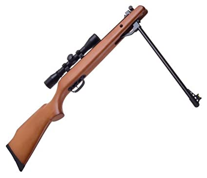 amazon com air pellet rifle gun with scope sports outdoors