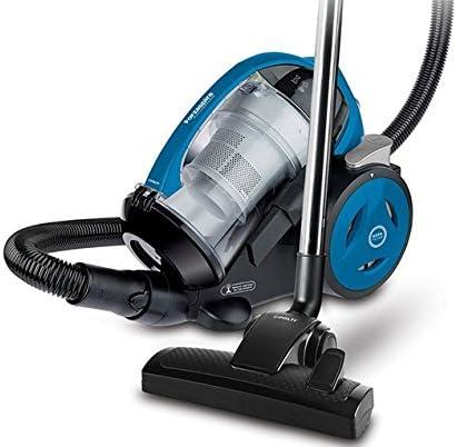 Polti Forzaspira MC350 Turbo & Fresh-Aspirador sin bolsa multiciclónico (1,8 litros, 140 AW, 78 dB, filtro HEPA), negro y azul, W, 1.8 litros, 1.8, Decibelios, plástico: Amazon.es: Hogar