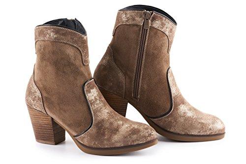 243d71818f42 Jual Lola Miller Darcie 2.5  Heel Leather Cowboy Boots with Zipper ...