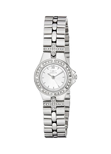 Invicta Women's 0132 Wildflower Collection Crystal Accented Stainless Steel Watch