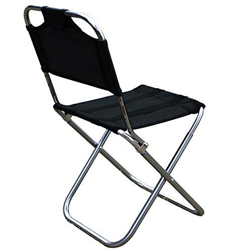 Nadalan Ultralight Aluminum Alloy Folding Stools Outdoor Portable Stool Recreational Fishing Chair Barbecue Stool - Recreational Chair