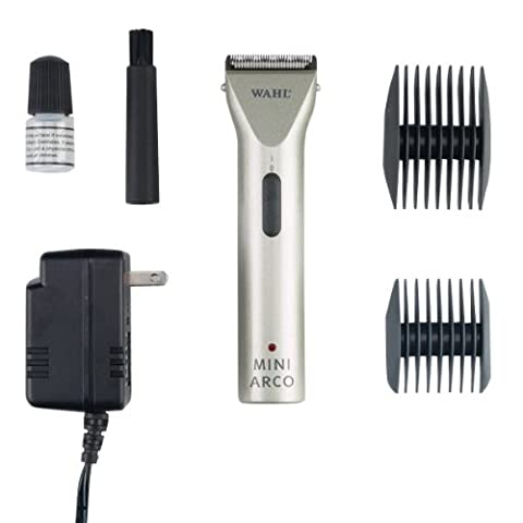 Wahl 8787-450A MiniArco Professional Cord/Cordless Pet Trimmer Kit by Wahl Professional Animal (Pet Mini Trimmer)