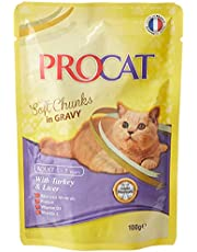 Procat Turkey and Liver Wet Food For Cats - 100 gm