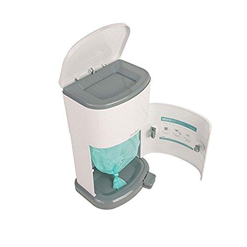 Janibell Akord Slim Adult Diaper Pail- Odor Free Model M280DA