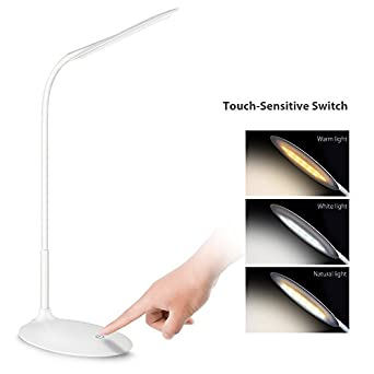 Cshidworld LED Desk Lamp Eye caring Table Lamps Ultrathin Office