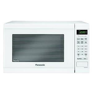 Panasonic NN-SN651WAZ Countertop Microwave with Inverter Technology, 1.2 cu. ft, 1200W, White