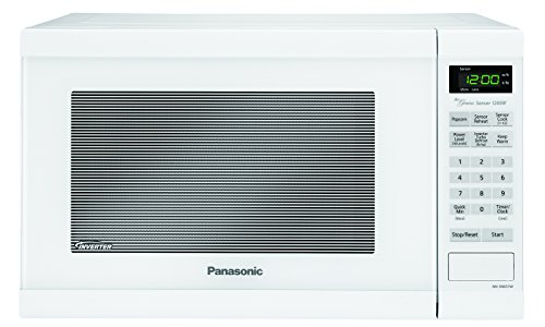 Panasonic NN-SN651WAZ White 1200W 1.2 Cu. Ft Countertop Microwave Oven with Inverter Technology (Panasonic Small Microwave Oven compare prices)