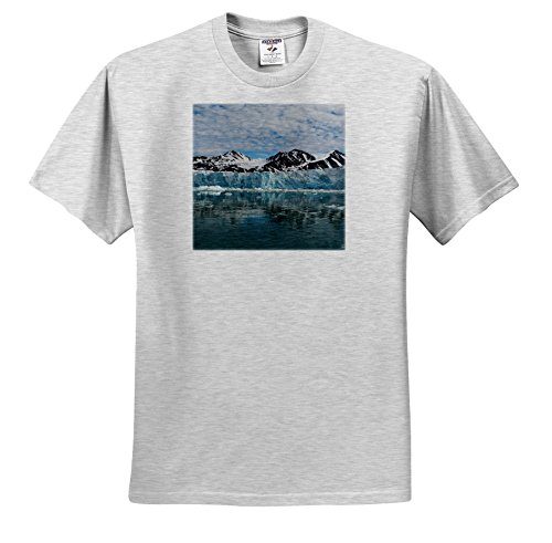 fan products of Danita Delimont - Mountain - Norway, Svalbard, Spitsbergen. Liefdefjord, Monaco Glacier. - T-Shirts - Toddler Birch-Gray-T-Shirt (4T) (TS_257824_33)