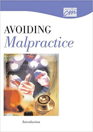 Download Avoiding Malpractice: Introduction (CD) (Risk Management) PDF, azw (Kindle), ePub, doc, mobi