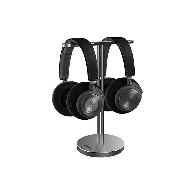 Double Headphones Stand, Jokitech Alumin