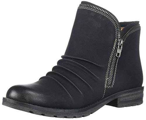 Soul Women's Black Brisha Ankle Boot Natural adqOWwHa