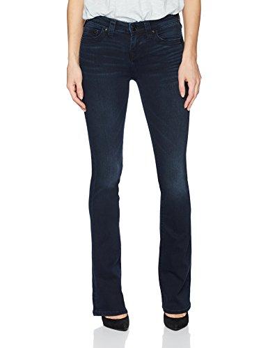 True Religion Women's Becca Mid Rise Boot Cut Jean, Mystic Blues, (Womens True Boot Jean)