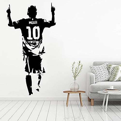 ganlanshu Nuevo Jugador de fútbol Etiqueta de la Pared del Vinilo ...