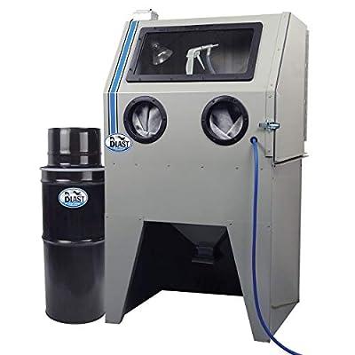 "TP Tools USA 2834 Skat Blast Sandblast Sandblasting Cabinet with HEPA Vacuum, 34""W x 28""D x 28""H Work Area, Made in USA"
