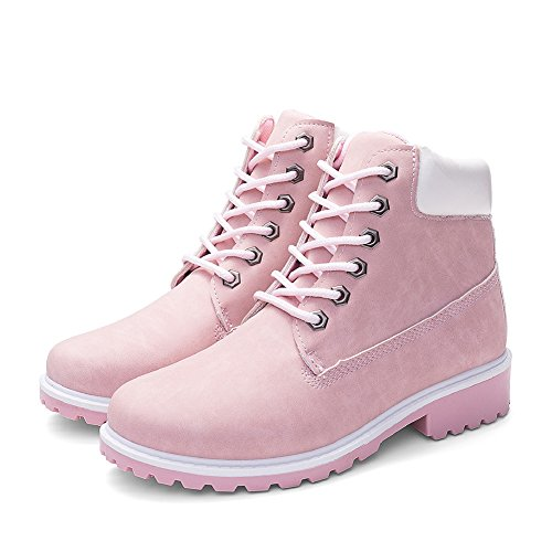 TAIYCYXGAN Women's Slouch Boots Pink Sy0K3wGS6
