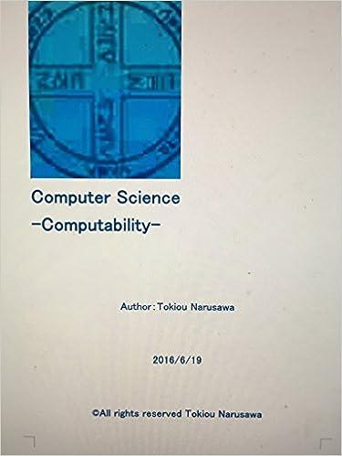 Read Computer Science: Computability PDF, azw (Kindle)