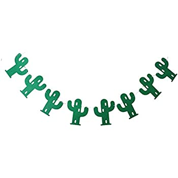 EBTOYS Cactus Banner Party Banner Pennant Wedding Parties Decorations