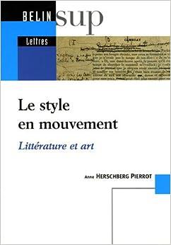 Book Le style en mouvement (French Edition)