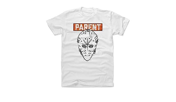 Amazon.com   500 LEVEL Bernie Parent Shirt - Vintage Philadelphia Hockey Men s  Apparel - Bernie Parent Facemask   Sports   Outdoors 515e941e6