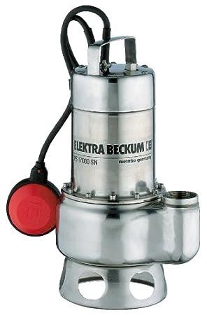 Gut gemocht Elektra Beckum Schmutzwassertauchpumpe PS 17000 SN: Amazon.de SQ45