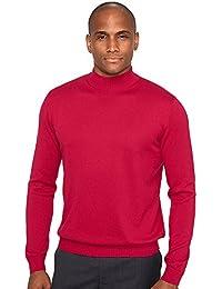 Men's Silk, Cotton \ Cashmere Mock Sweater