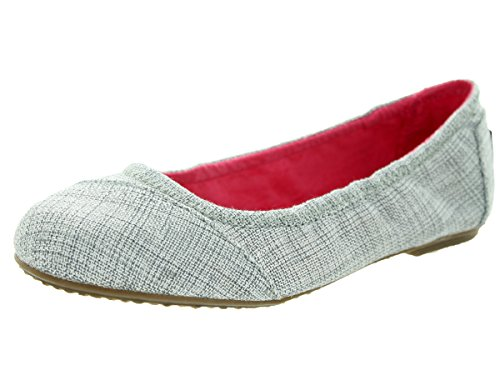 Pictures of TOMS Kids Womens Ballet Flat (Little Kid/Big Kid) TOMS_1264 1