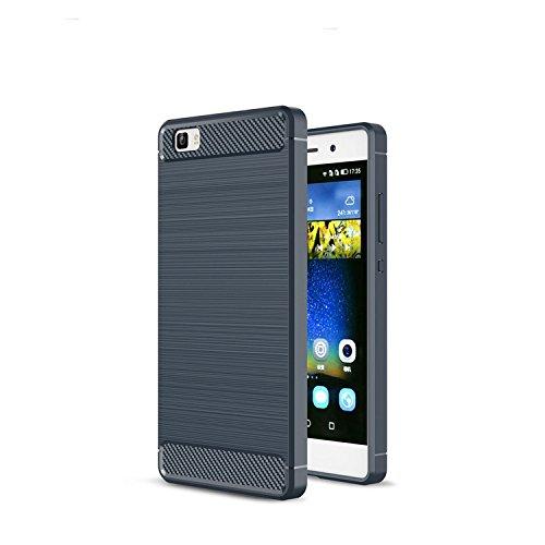 pretty nice 93b14 58fcf Amazon.com: Huawei P8 Fitted Case, [Nutbro] [Slim Thin] Soft TPU ...