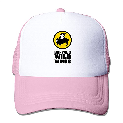 pink-hglenice-buffalo-wild-wings-unisex-adjustable-baseball-trucker-cap-one-size