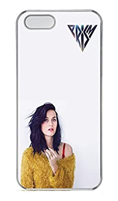 iPhone 5 Case, iPhone 5S Cases - Crystal Clear Hard Protective Case Cover for iPhone 5/5s Katy Perry Prism Album Cover Anti-Scratch Clear Hard Case Bumper for iPhone 5/5S