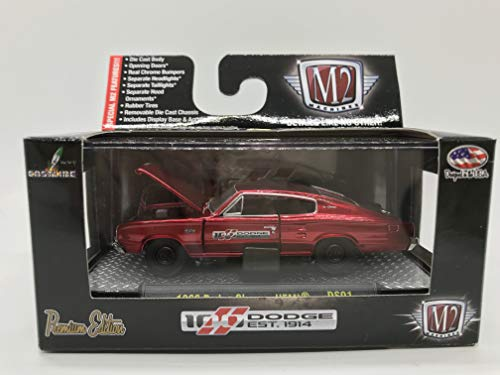 18 1966 Dodge Charger - M2 Machines Dodge 100 Years Special Edition 1966 Dodge Charger HEMI 1:64 Scale DS01 14-23 Neon Red Details Like NO Other! Over 42 Parts 1 of 5000