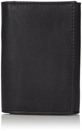 Buxton Men's Diablo RFID Blocking I.D. Three-Fold, black, One - Three Fold Wallet Mens