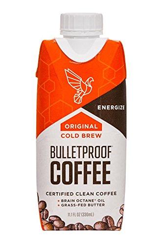 Bulletproof Coffee Cold Brew 6 pack (Original + Collagen Protein)