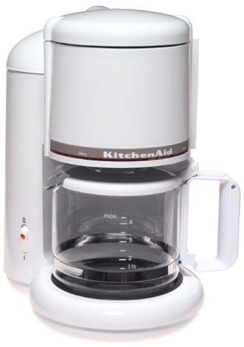 KitchenAid KCM055 4 Cup Ultra Coffeemaker White