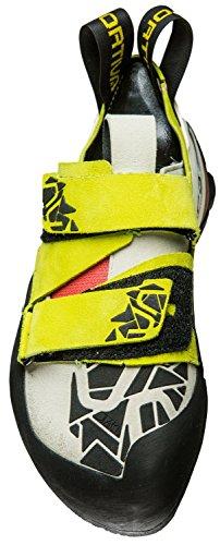 La Sportiva Mutant Femmes Chaussures De Course De Trail - Ss18 Otaki Femme Soufre / Corail Talla: 35