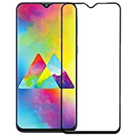 CASE FACTORY Tempered Glass for Samsung Galaxy M20 6D Full Glue Tempered Glass Full Edge-to-Edge Screen Protection for Samsung Galaxy M20 (Galaxy M20 - 2019)