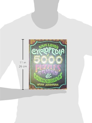 Buy sam loyds cyclopedia of 5000 puzzles tricks and conundrums with buy sam loyds cyclopedia of 5000 puzzles tricks and conundrums with answers book online at low prices in india sam loyds cyclopedia of 5000 puzzles fandeluxe Gallery