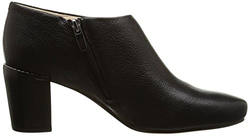 Clarks Cleaves Vibe - botas de cuero mujer Negro (Black Leather)
