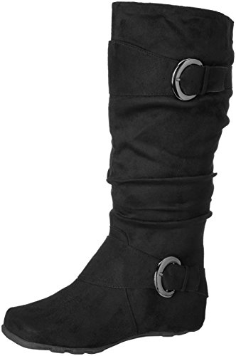 Wide Slouch Black Calf Brinley Augusta Co Boot Women's 02wc IOxx70qUw