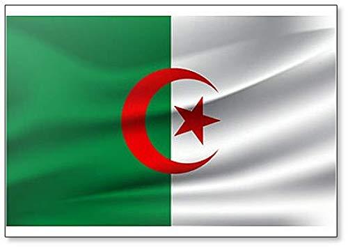 Waving Flag of Algeria Fridge Magnet