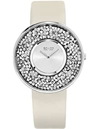SO & CO New York Women's 5223.1 SoHO Quartz Silver Wrist Watches