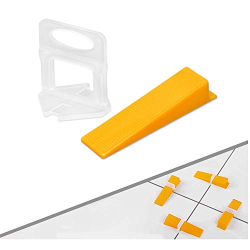 Tile Leveling System DIY Tiles Leveler Spacers 1/8 inch 300pcs
