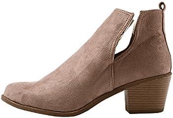 Doubleal Ankle Women's Pointed Toe Heels Booties