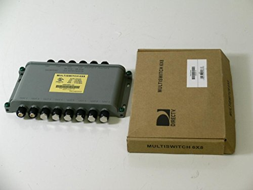 Directv 6x8 Multi-Switch Ka Ku Bands MS6X8R1-03