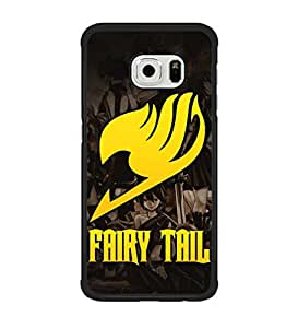 Samsung Galaxy S6 Edge Funda Case, Galaxy S6 Edge Cover, Fairy Tail Protective Anti Scratch Thin Hard Phone Accessories (Not Fit para S6)